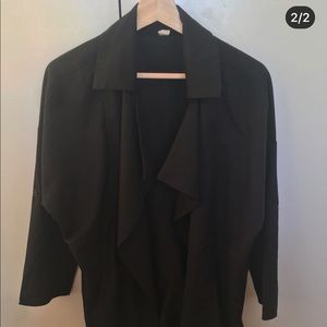 Black Dust Coat/Blazer  - Brand new without tags